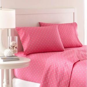 New Southern Tide Skipjack Queen sheet set Pink